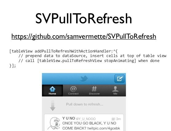 Give pull-to-refresh & infinite scrolling to any UIScrollView with 1 line of code