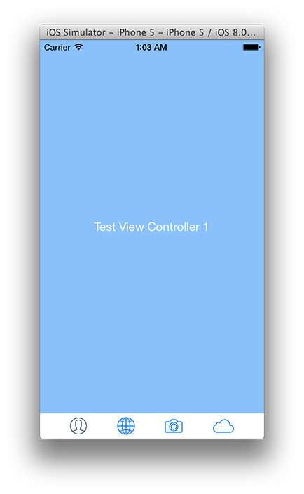 Another UITabBar & UITabBarController (iOS Tab Bar) replacement