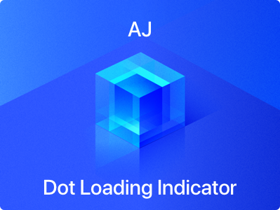 High Performance Custom Dot Loading Indicator in iOS