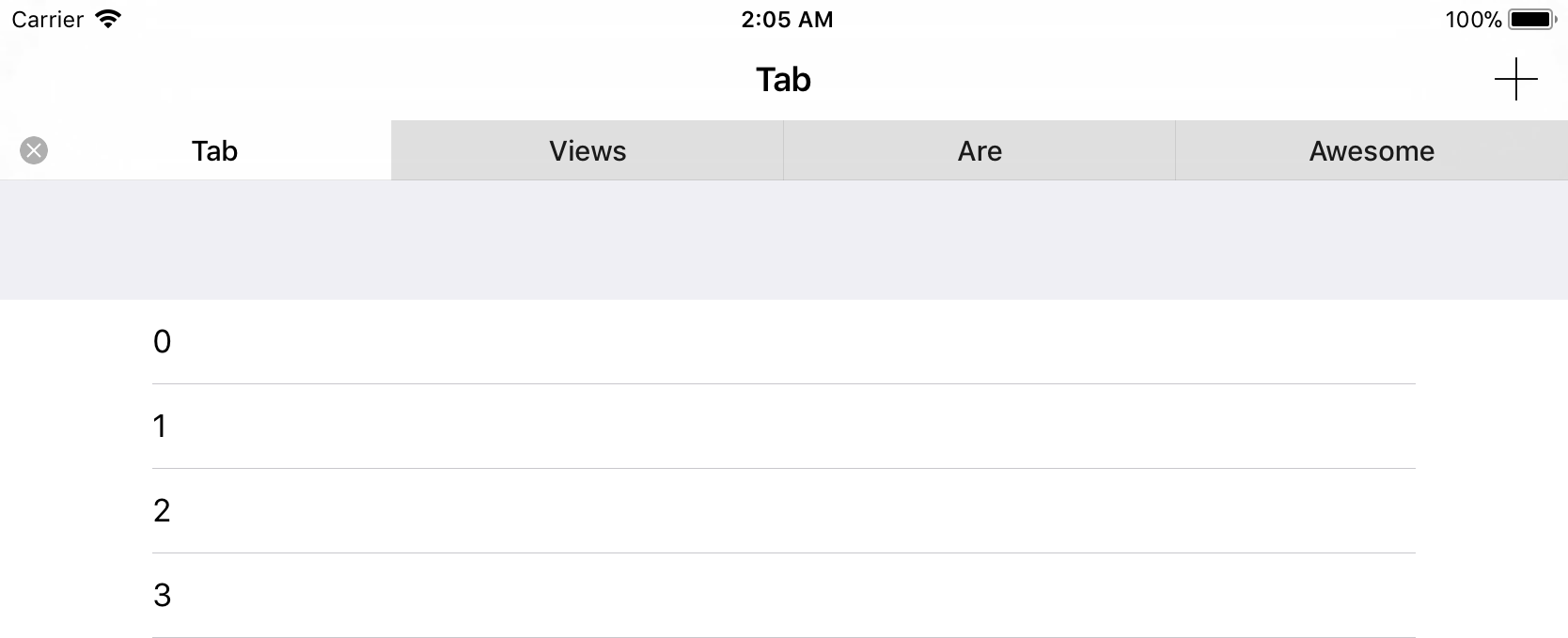 A replacement for UITabViewController which mimics Safari tabs on iOS