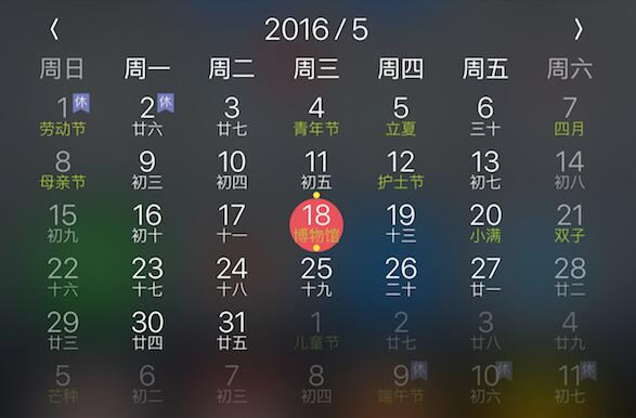 LunarCore: Small lunar calendar with Today Extension