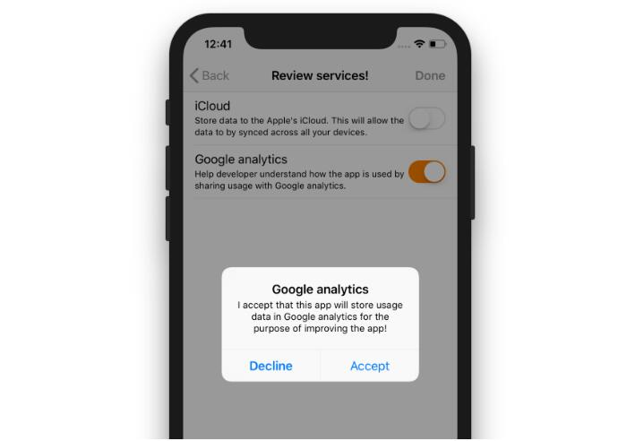 Swift library to help you add GDPR functionality to your app