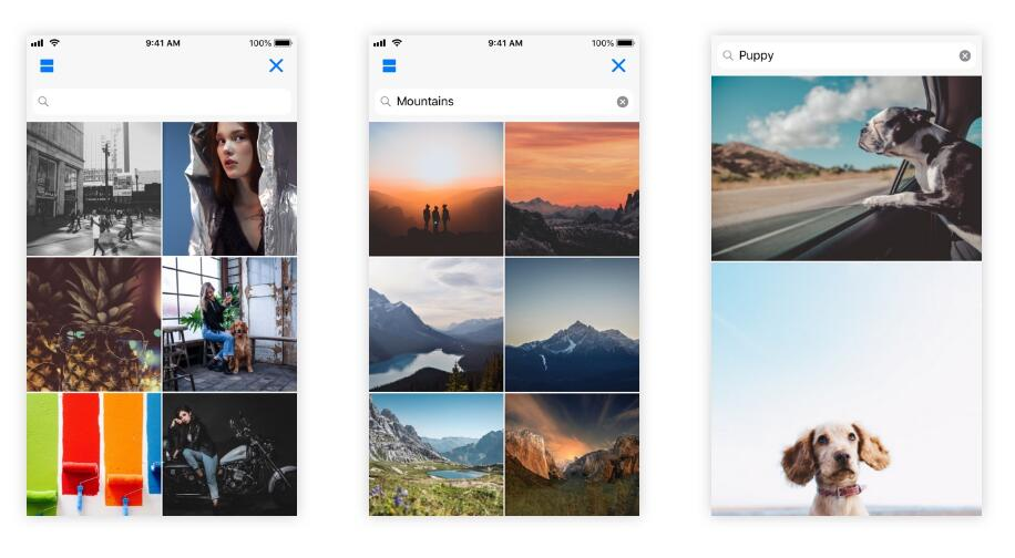 An iOS framework that provides an interface for browsing for photos
