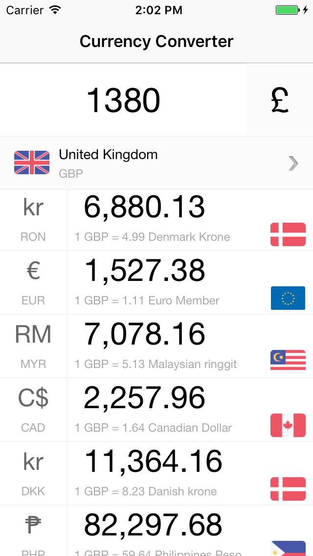 currency converter  live foreign exchange rates  u0026 currency calculator