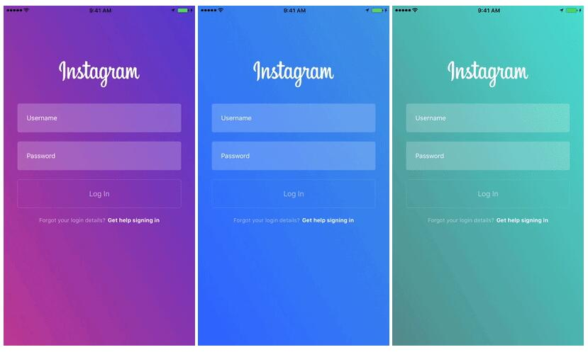 Gradient animation effect like Instagram