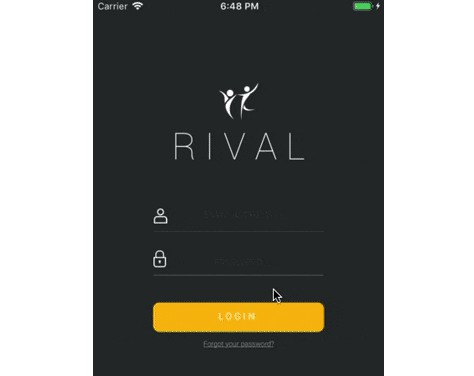 A fitness iOS application that allows users to track