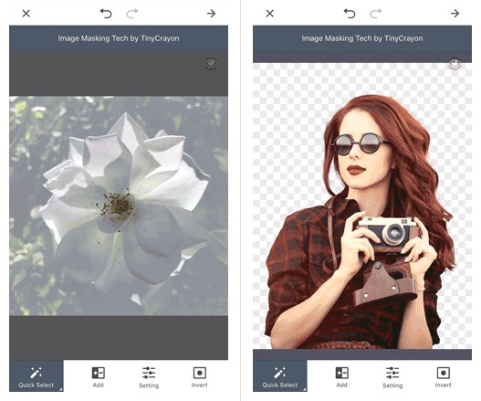 A smart and easy-to-use image masking and cutout SDK for mobile apps