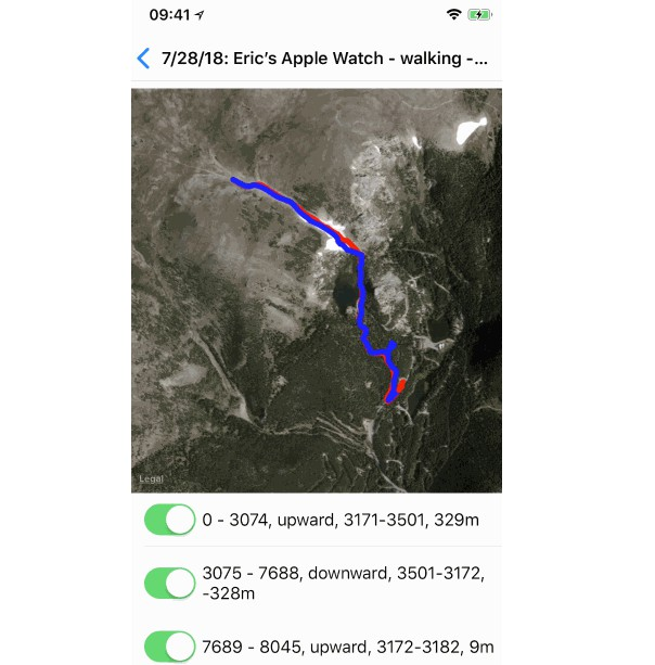 An iOS Library for Geo Tracking