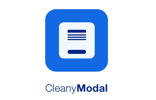 Swift UI Kit to present clean modal/alert