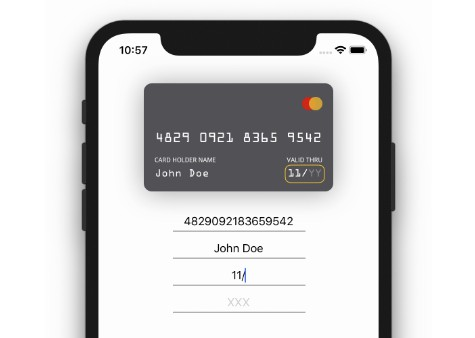 Better payment user experience library with cool animation in Swift