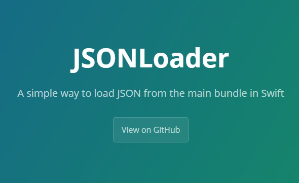 A simple way to load JSON from the main bundle in Swift