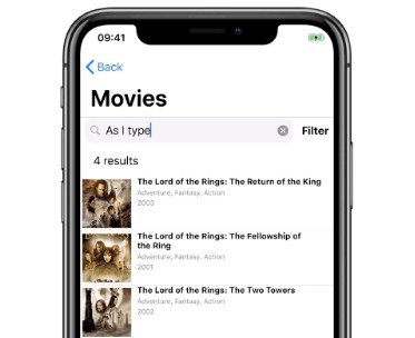 Example apps built with InstantSearch iOS