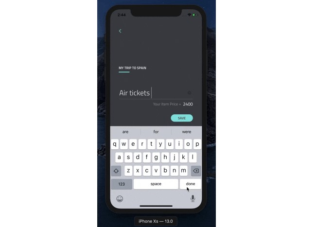 Recreation of calculator-checklist project in SwiftUI