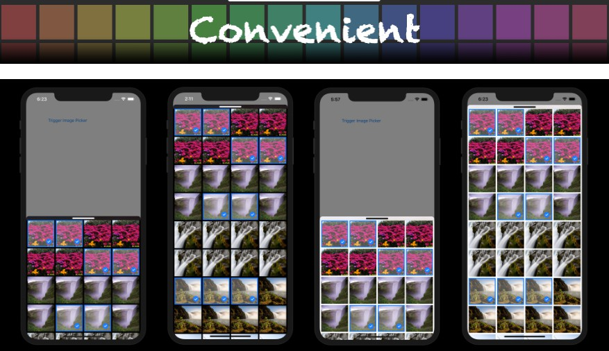 A beautiful and simple image picker solution for iOS