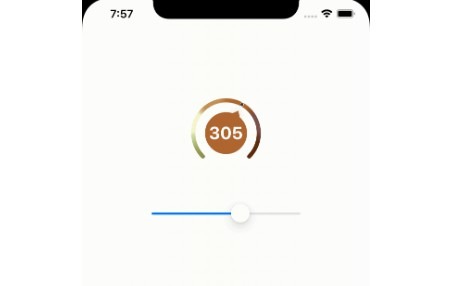 Circular View Slider with swift
