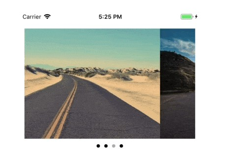 Customizable Swift image slideshow with circular scrolling