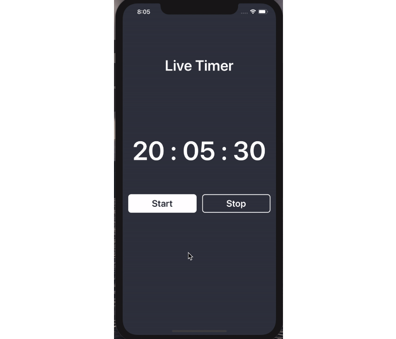 Live Timer which will run based on the current Time in Swift