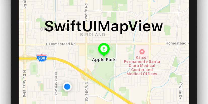 MKMapView in SwiftUI