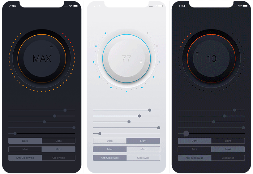 A highly customisable and reusable circular slider for iOS